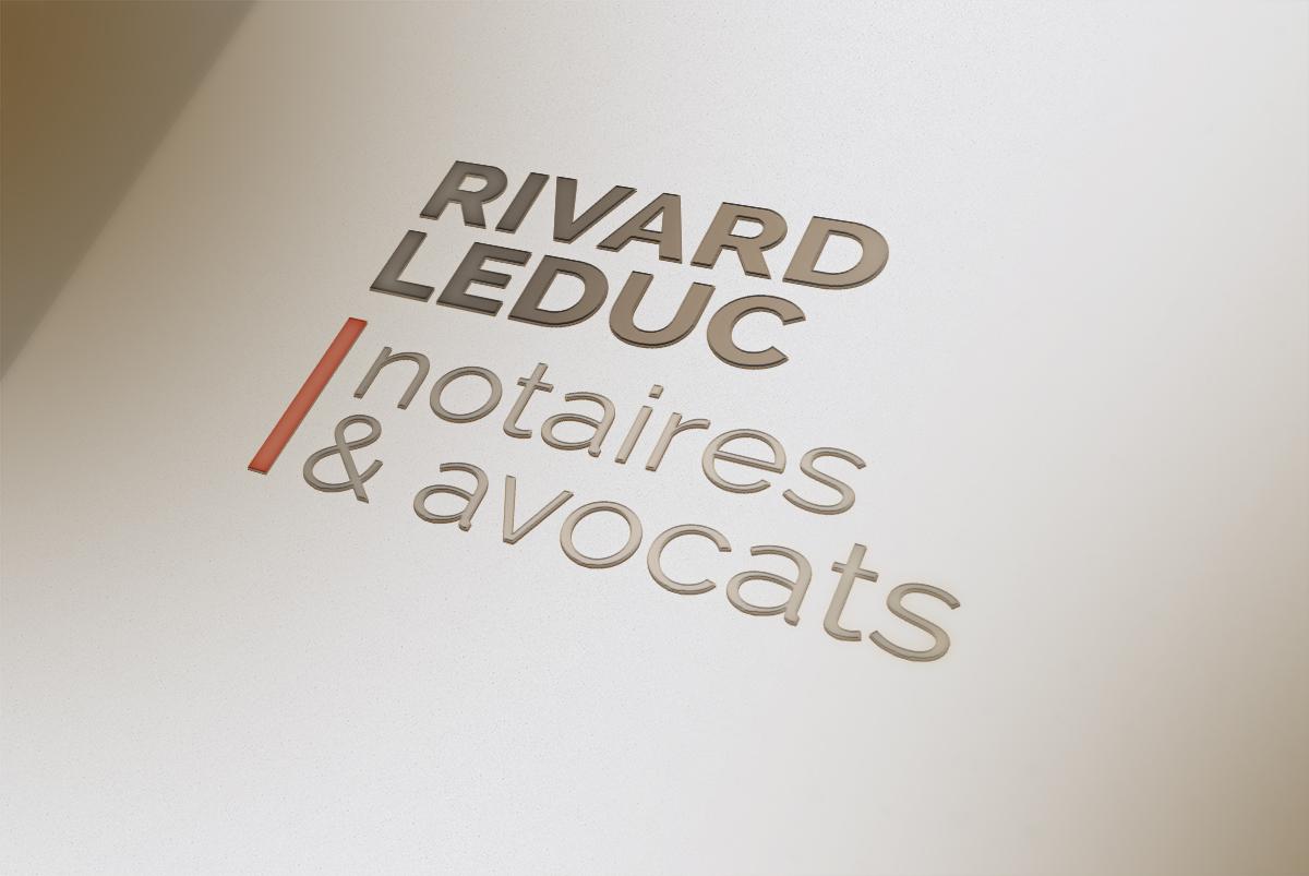 Logo pour Rivard Leduc, notaires et avocats