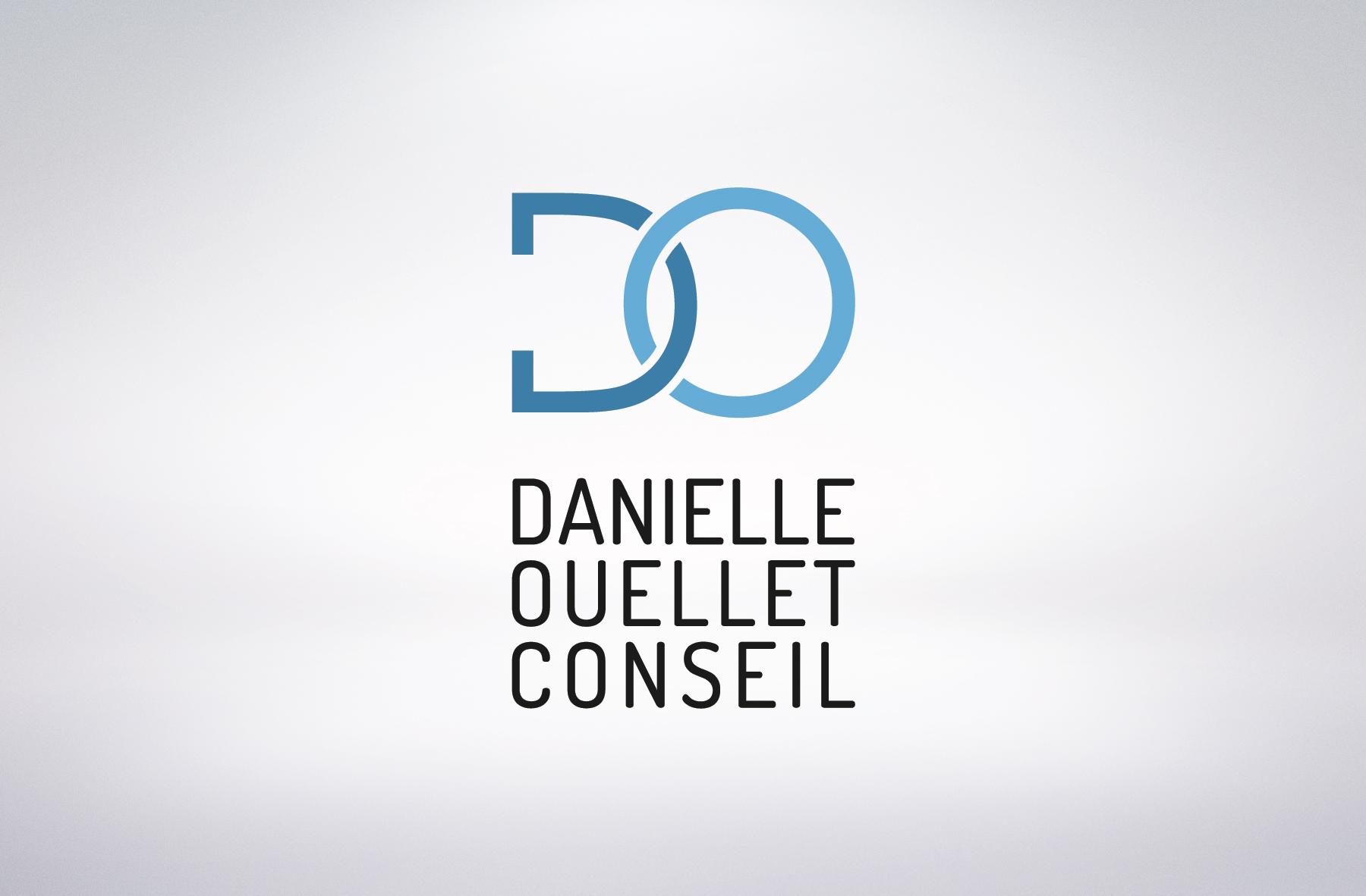 Danielle Ouellet conseil logo vertical