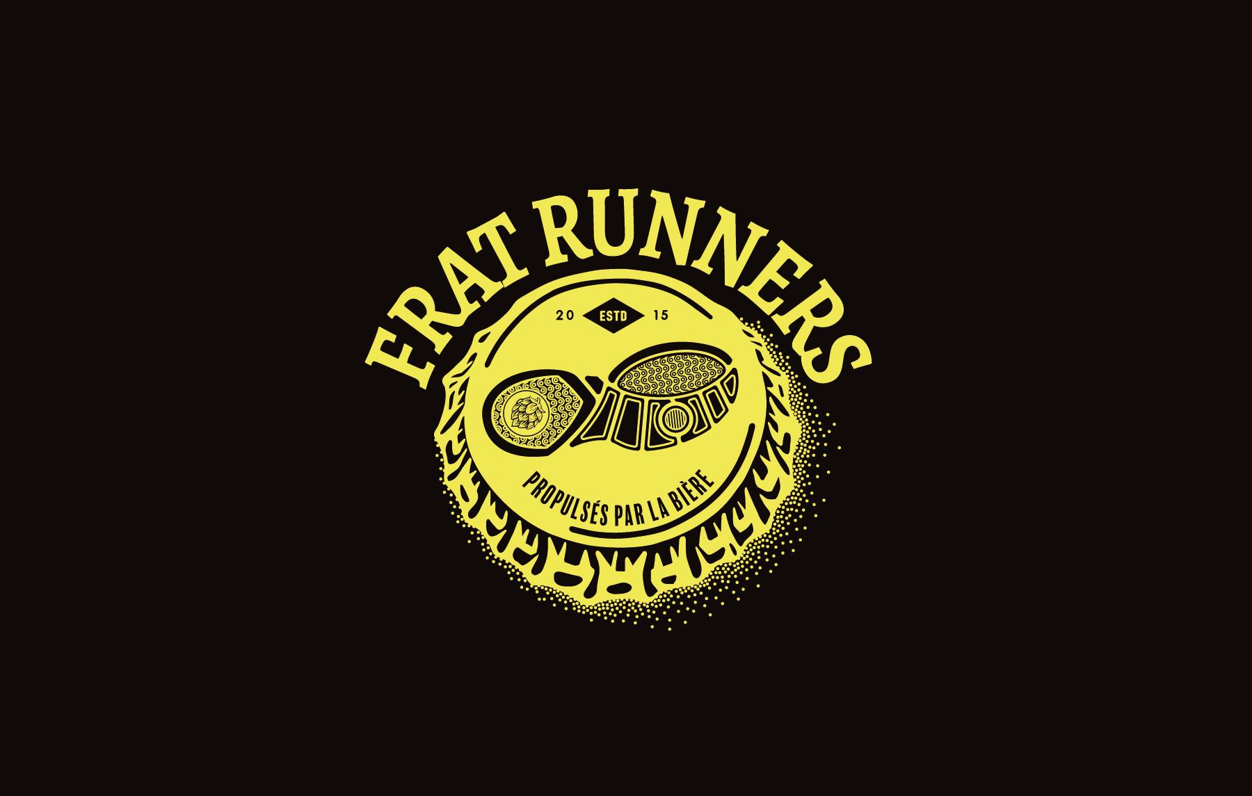 FratRunners logo noir