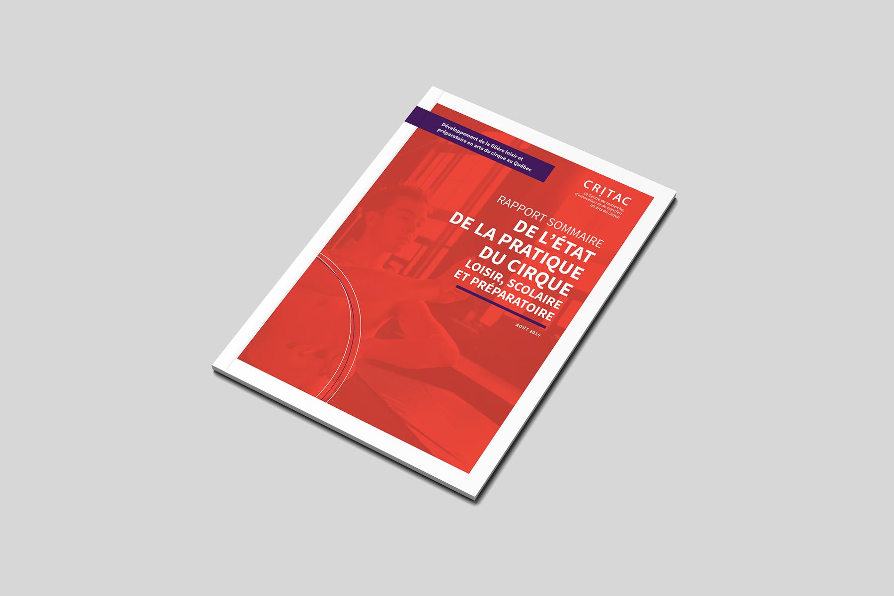 Couverture du rapport sommaire