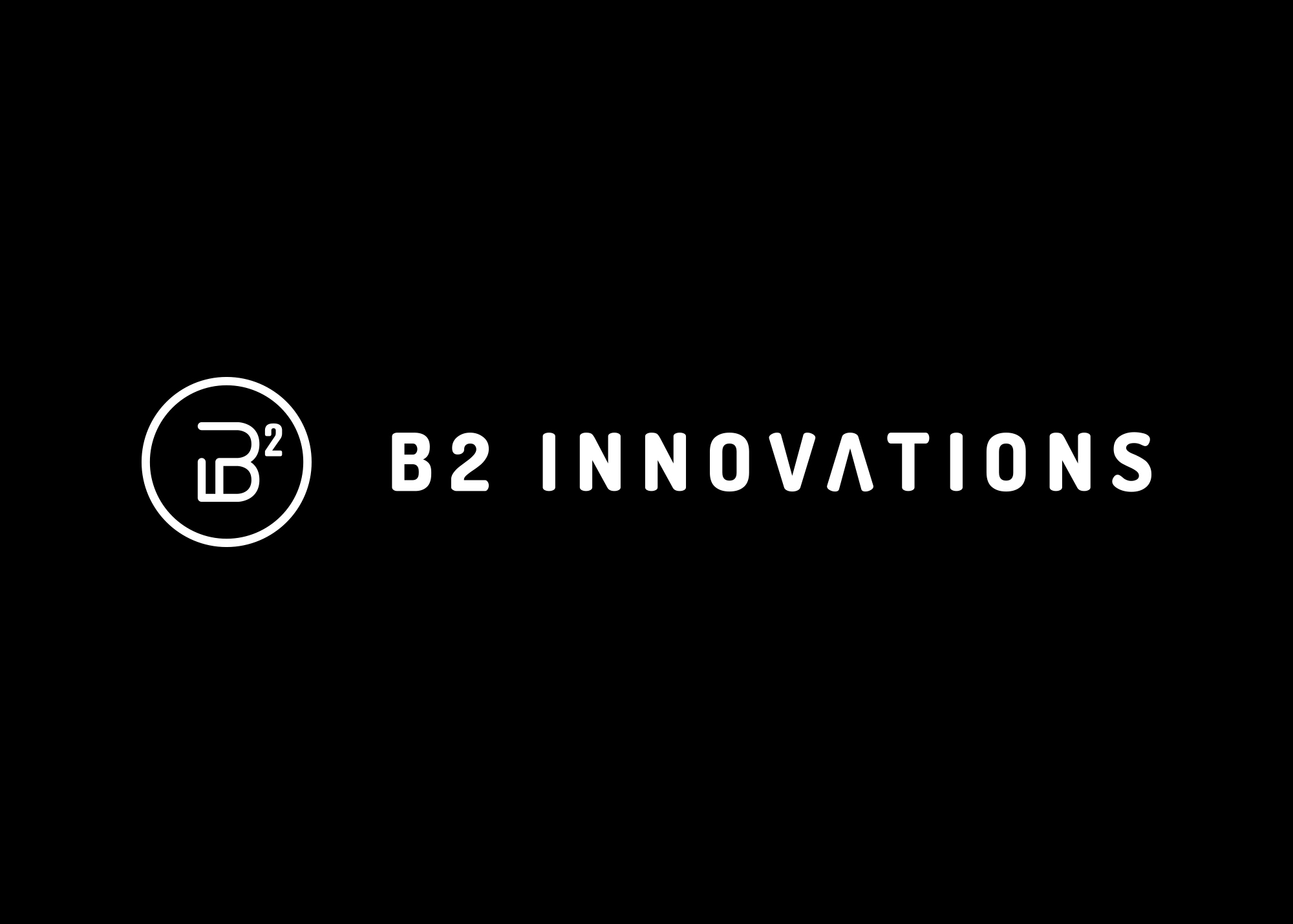 Logo horizontal de B2 Innovations
