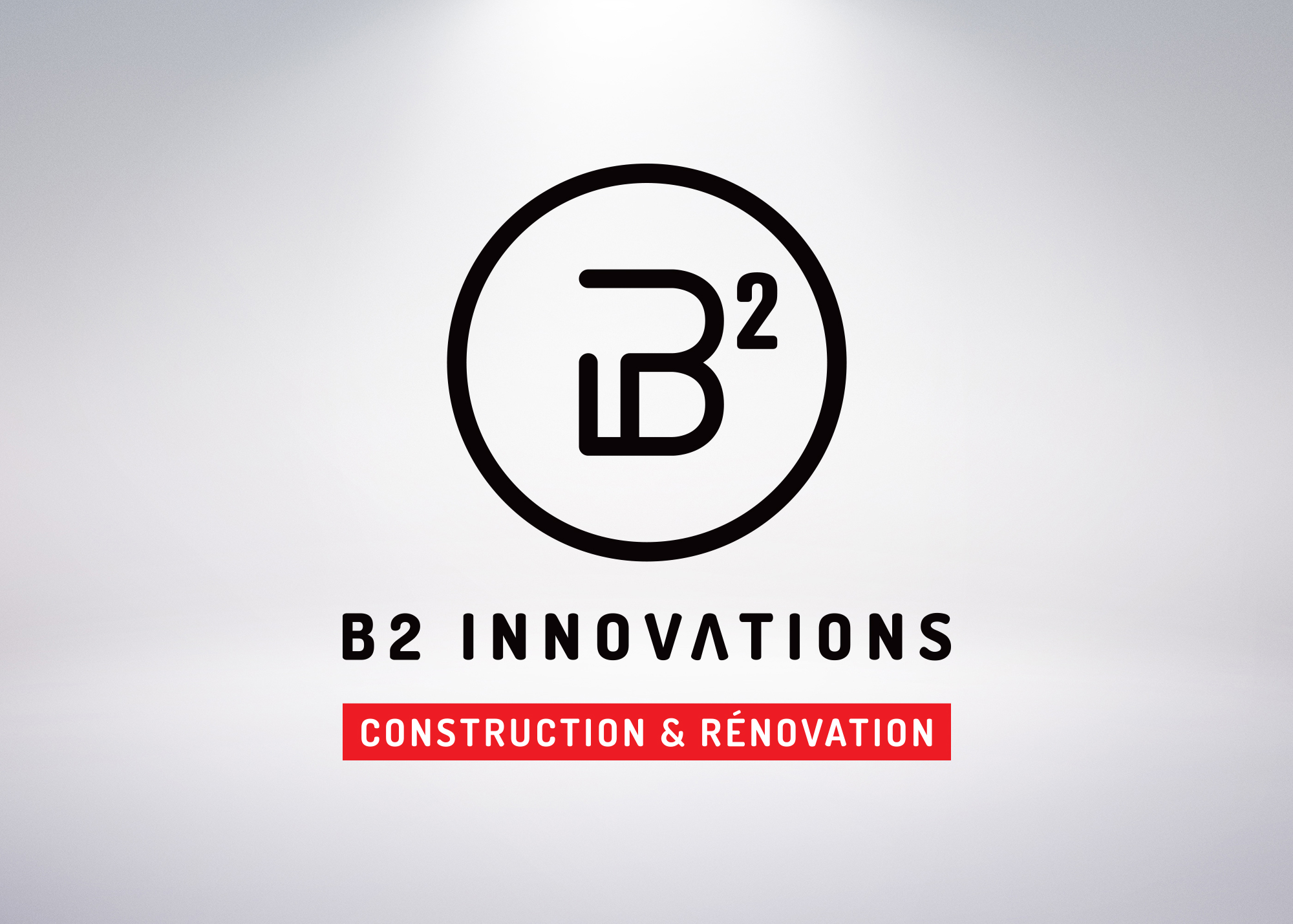 Logo vertical de B2 Innovations